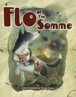 A wonderful book. A poem which tells the adventures of Flo the mercy dog.
