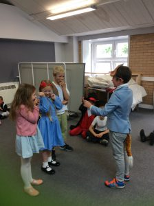 Our drama workshop.